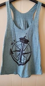 Anchor and Compass Tank Top